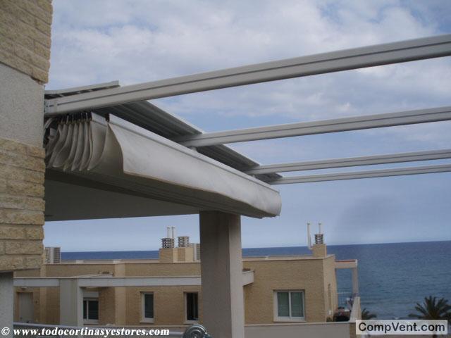 tejadillo de aluminio para toldos y pergolas anuncios
