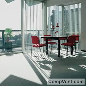 Cortina Vertical de Aluminio de 89 mm