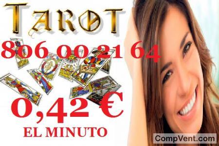 Tarot Económico 806/Tarotistas/ 0,42 € el Min
