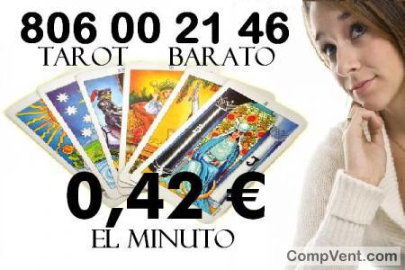 Tarot 806 Línea Barata/Tarotistas/0,42 € el Min