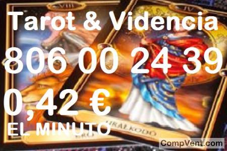 Tarot 806 Barato/Tirada de Tarot/0,42 € el Min