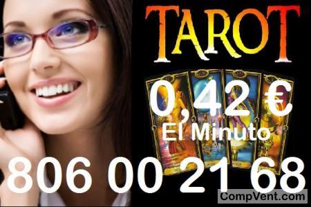 Tarot Barato del Amor/Tarotistas/0,42 € el Min.