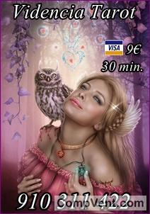 Videncia Real del Amor Promoción Visa 5 € 15 min. 910 312 450 / 806 002 109