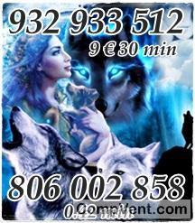 La mejor vidente    llámame y compara 806 002 858  y 933 800 803