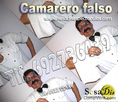 camareros falsos madrid