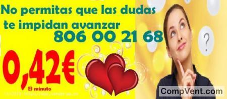 Tarot Línea 806 Barato/Tarot Visa/ 0,42 € el Min