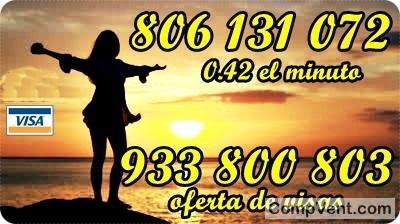 Un tarot que piensa en tus sentimientos llama 933800803 y 806131072 visas 9 € 30 MIN -5 €15 MIN