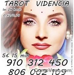 20€ 75 min. VIDENTE Y TAROTISTA EXPERTA EN DIFERENTES MANCIAS 910 312 450 -806002109