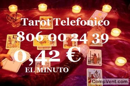 Tirada Tarot Barato del Amor/0,42 € el Min.