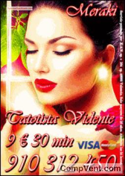 Tarot Meraki ,Especialistas en Tarot y Videncia  VISA desde 5 € 15 min. 7€ 20 min. 9€ 30min