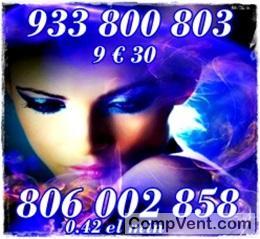 Tarot fiable visas de 7 € 25 min 932-933-512 y 806 002 858