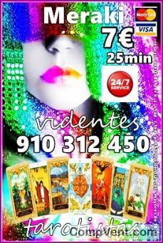 SOY TAROT Y VIDENCIA PURA  910312450 - 806002109 VISA  4€ 15 min.7€ 25 min. SOLO LA VERDAD