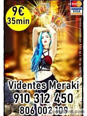 35 MIN POR 9 EUROS TAROT Y VIDENCIA MERAKI 910312450-806002109