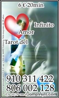 """Precisa y Directa al """"Interpretar las cartas."""" VIDENTE Y TAROTISTA 910 311 422 / 806 002 128"""
