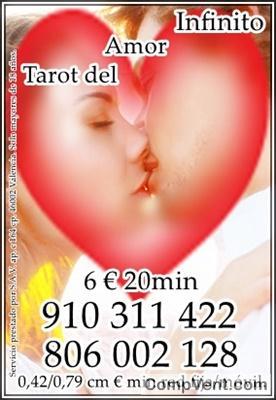 ¿esta destinad@ para mi? ofertas toda visa 6€ 20min/ 9€ 30min/  4€ 15min/ 12€ 45min  tarot