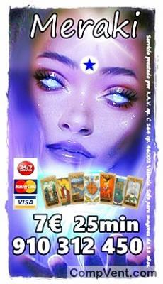 La Mejor Oferta Tarot Visa 910 31 24 50 VISA desde 4 € 15 min. 9€ 35min / 806 002 109