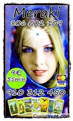 VISA desde 4 € 15 min/ 7€ 25min/ TAROT/MAGIA /VIDENCIA VISA 910312450 -806002109 Coste min. 0,42