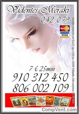TAROT VISA 4€ 15 min/ 7€ 25min/ 9 € 35min .12€ 45. 20€ 80min 910312450 / 806002109