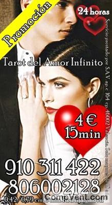 Sopla el Dolor y Camina hacia el Amor – TAROT DEL AMOR INFINITO 910311422-806002128 – 6€ 20min
