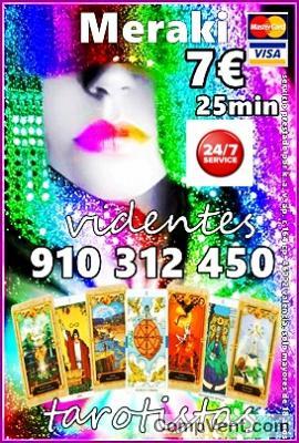 TAROT VISA 4€ 15 min/ 7€ 25min/ 9 € 35min/ 12€ 45min/  20€ 80min 910312450 / 806002109