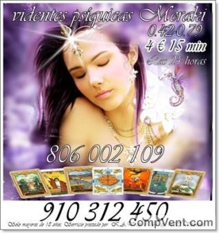 Videncia del Amor Promoción Visa 4 € 15 min. 910312450-806002109