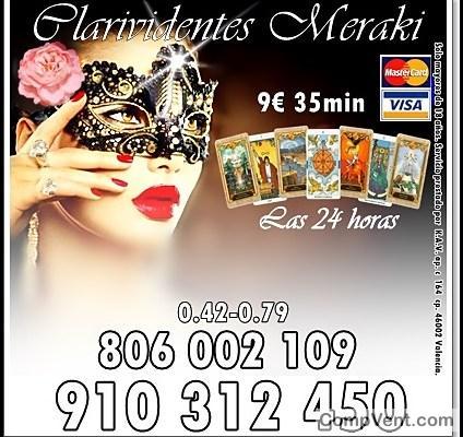Visa Tarot Promoción 7€ 25min. 15€ 55min. 910312450-806002109