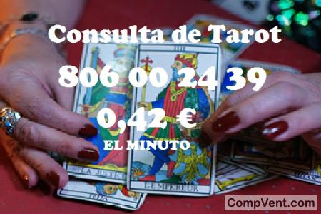 Tarot Visa/806 Tarotistas/7 € los 20 Min