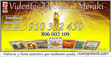 7€ 25min. 9€ 35.min. Tarot visa Económico /Sincero / Fiable 910 312 450- 806002109 - PROMOCIÓN