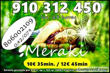 TAROT/MAGIA /VIDENCIA 910 312 450 Las 24 horas Visa  4€ 15 min/ 7€ 25min/ 9€ 30min / 12€ 45m