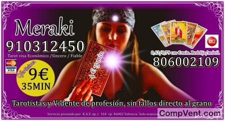 0.49/0.79 cm. min. Fijo/ móvil 806002109 VIDENTE CLARA Y DIRECTA 910312450