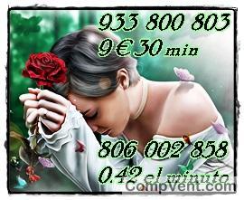 Deja de sufrir con tus dudas llámanos y te responderemos 806131072 y 932933512 tarot visas 9 € 35