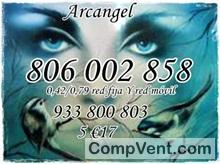 Tarot visa económico 4 euros 15 mtos. 806-131-072 solo 0,42cm