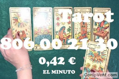 Tarot 806 002 130 del Amor/0,42 € el Min.