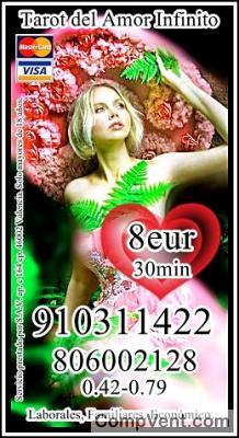 4€ 15 min/ 6 € 20min¿Estará a mi lado algún día ? TAROT DEL AMOR INFINITO 910311422-80600212