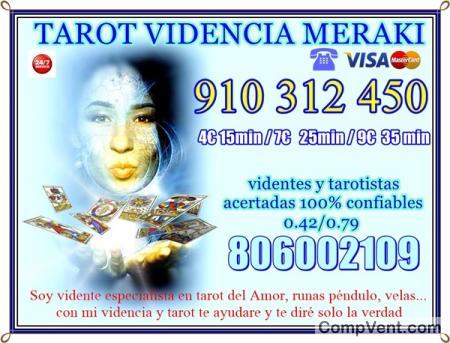 TAROT VISA BARATO 9 EUR 35MIN/7EUR 25 MIN 910312450 LAS 24 HORAS TAROT BARATO TODA ESPAÑA